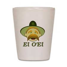 EL OEL (LOL) Shot Glass