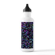 Glitter Graphic Backgr Water Bottle