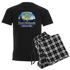 Lake Norman Sun Rays Logo Pajamas