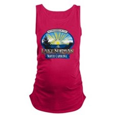 Lake Norman Sun Rays Logo Maternity Tank Top