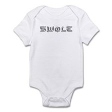 SWOLE BODYBUILDING Infant Bodysuit