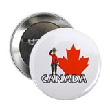 Canadian Mountie Button