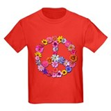 Peace Flowers T