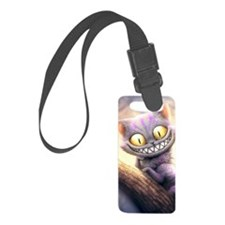Cheshire Cat Small Luggage Tag