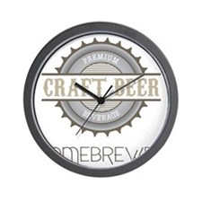 Home Brewer Wall Clock