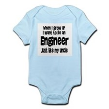 WIGU Engineer Uncle Infant Bodysuit