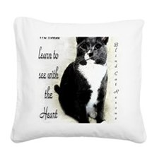 Fred Square Canvas Pillow