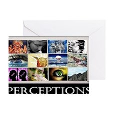 Perceptions lg Poster Greeting Card