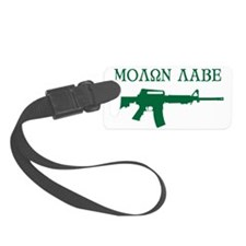 MOLON LABE - Come and Take Them Luggage Tag