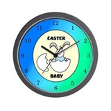 EASTER BABY EGG CLOCK HOLIDAY