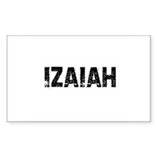 Izaiah Rectangle Decal