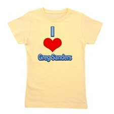 I Heart Greg Sanders2 Girl's Tee