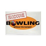 Hardcore Bowling Rectangle Magnet (10 pack)