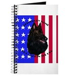 Belgian Sheepdog & Flag Journal