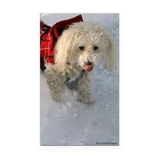 Roxy snow Rectangle Car Magnet