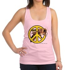 Give Bees A Chance! Racerback Tank Top