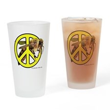 Give Bees A Chance! Drinking Glass