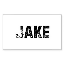 Jake Rectangle Decal