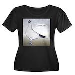 Polish Shortface Pigeon Women's Plus Size Scoop Ne