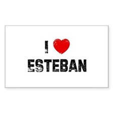 I * Esteban Rectangle Decal
