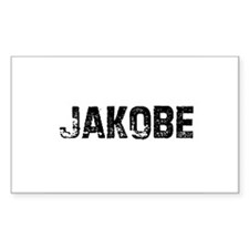 Jakobe Rectangle Decal