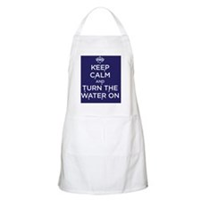 water on Apron