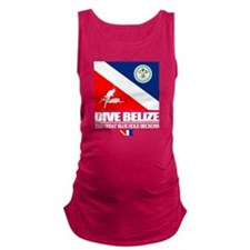 Dive Belize Maternity Tank Top