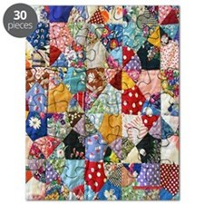 Colorful Patchwork Quilt Puzzle