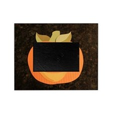 paper collage jack o'lantern Picture Frame