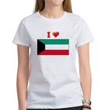 I love Kuwait Flag Tee