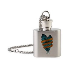One Thirsty Bitch Flask Necklace