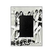 Vintage Women Beach Postcard Picture Frame