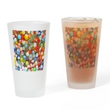 Colorful Marbles Drinking Glass
