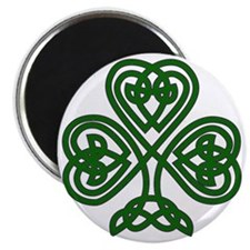 Celtic Clover (dark) Magnet