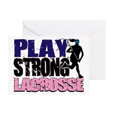 GirlsLax_Tee2 Greeting Card