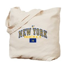 NY Hockey Tote Bag