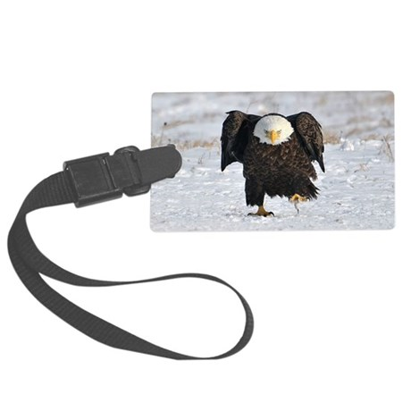 661_h_f hitch cover Large Luggage Tag
