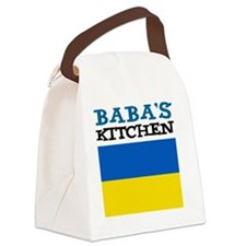 Babas Kitchen Apron Canvas Lunch Bag