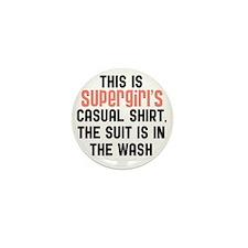 Supergirls casual shirt Mini Button