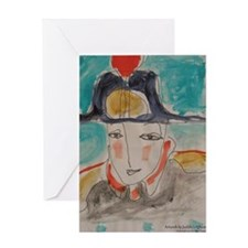 Napoleanne Greeting Card