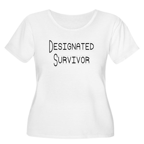 Designated Survivor Women's Plus Size Scoop Neck T