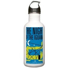 Night of the Iguana Water Bottle
