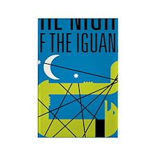 Night of the Iguana Rectangle Magnet
