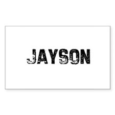 Jayson Rectangle Decal