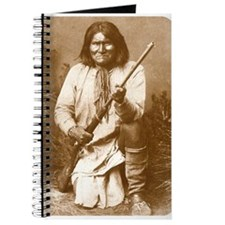 Geronimo Apache Chief Old Wild West Journal
