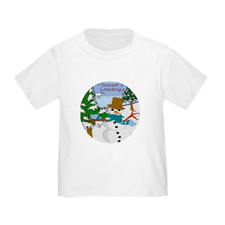 Season's Greetings Toddler T-Shirt