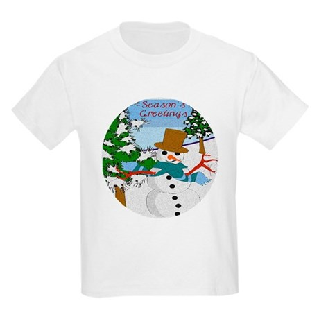 Season's Greetings Kids Light T-Shirt