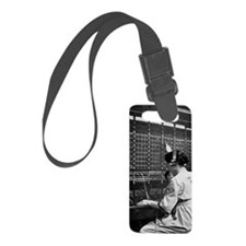 Telephone switchboard operator,  Luggage Tag