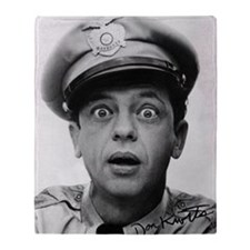 My Dad Don Knotts Throw Blanket