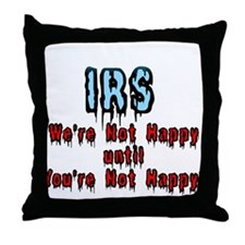 IRS Humor Throw Pillow